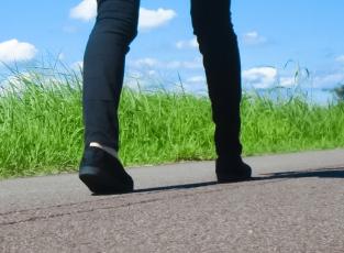 一万歩、歩く
